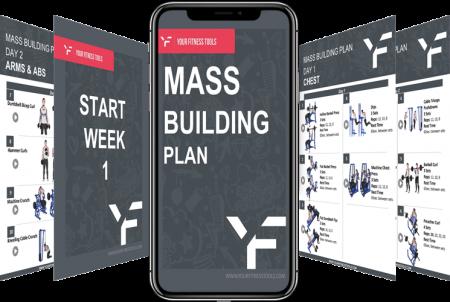 8 Week Mass Building Plan Preview